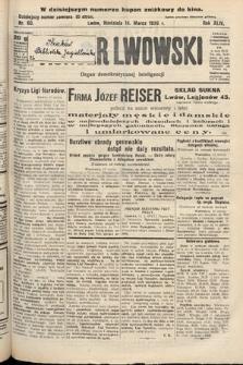 Kurjer Lwowski : organ demokratycznej inteligencji. 1926, nr60