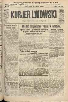 Kurjer Lwowski : organ demokratycznej inteligencji. 1926, nr64