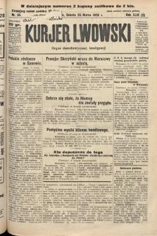 Kurjer Lwowski : organ demokratycznej inteligencji. 1926, nr65