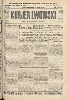 Kurjer Lwowski : organ demokratycznej inteligencji. 1926, nr67