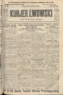 Kurjer Lwowski : organ demokratycznej inteligencji. 1926, nr68