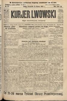 Kurjer Lwowski : organ demokratycznej inteligencji. 1926, nr69