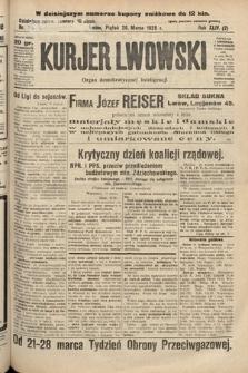 Kurjer Lwowski : organ demokratycznej inteligencji. 1926, nr70
