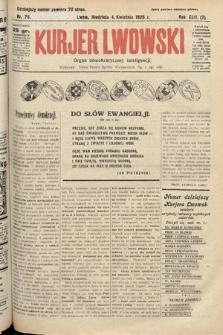 Kurjer Lwowski : organ demokratycznej inteligencji. 1926, nr78