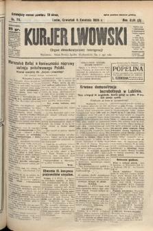 Kurjer Lwowski : organ demokratycznej inteligencji. 1926, nr79
