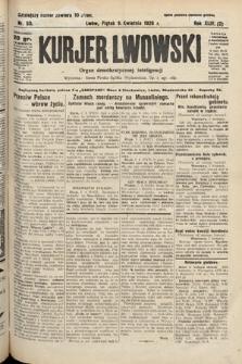 Kurjer Lwowski : organ demokratycznej inteligencji. 1926, nr80
