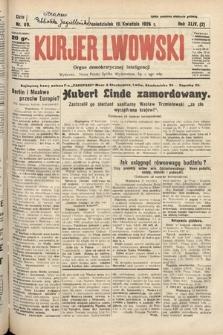 Kurjer Lwowski : organ demokratycznej inteligencji. 1926, nr89