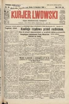 Kurjer Lwowski : organ demokratycznej inteligencji. 1926, nr90