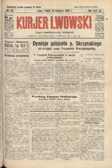 Kurjer Lwowski : organ demokratycznej inteligencji. 1926, nr92