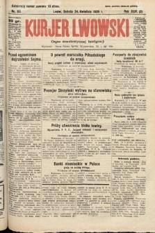 Kurjer Lwowski : organ demokratycznej inteligencji. 1926, nr93