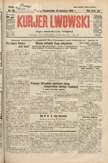 Kurjer Lwowski : organ demokratycznej inteligencji. 1926, nr95