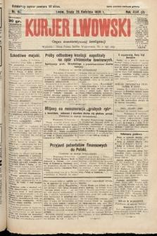 Kurjer Lwowski : organ demokratycznej inteligencji. 1926, nr96