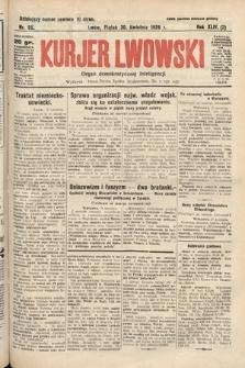 Kurjer Lwowski : organ demokratycznej inteligencji. 1926, nr98