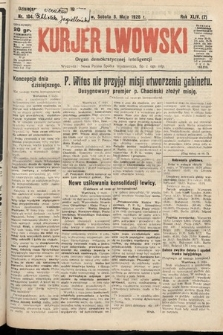 Kurjer Lwowski : organ demokratycznej inteligencji. 1926, nr104
