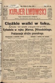Kurjer Lwowski : organ demokratycznej inteligencji. 1926, nr110