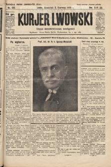 Kurjer Lwowski : organ demokratycznej inteligencji. 1926, nr125