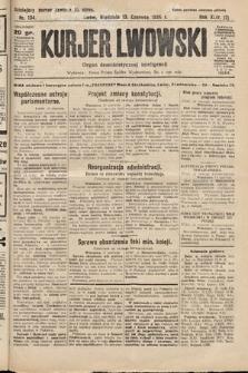 Kurjer Lwowski : organ demokratycznej inteligencji. 1926, nr134