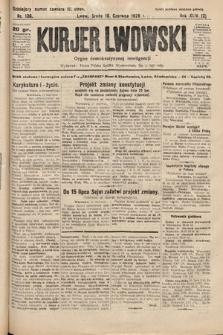 Kurjer Lwowski : organ demokratycznej inteligencji. 1926, nr136