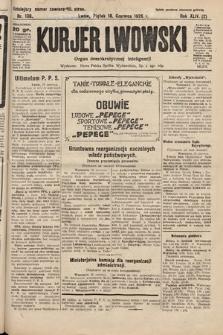 Kurjer Lwowski : organ demokratycznej inteligencji. 1926, nr138
