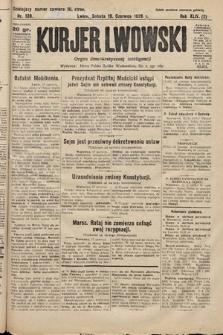 Kurjer Lwowski : organ demokratycznej inteligencji. 1926, nr139