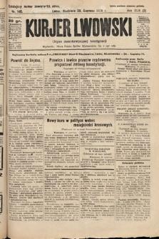 Kurjer Lwowski : organ demokratycznej inteligencji. 1926, nr140