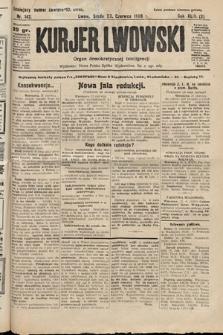 Kurjer Lwowski : organ demokratycznej inteligencji. 1926, nr142