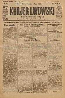 Kurjer Lwowski : organ demokratycznej inteligencji. 1926, nr151