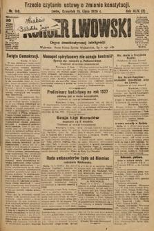 Kurjer Lwowski : organ demokratycznej inteligencji. 1926, nr160