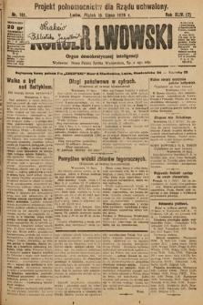 Kurjer Lwowski : organ demokratycznej inteligencji. 1926, nr161