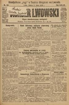 Kurjer Lwowski : organ demokratycznej inteligencji. 1926, nr162