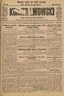 Kurjer Lwowski : organ demokratycznej inteligencji. 1926, nr163
