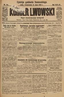 Kurjer Lwowski : organ demokratycznej inteligencji. 1926, nr164