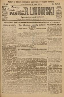 Kurjer Lwowski : organ demokratycznej inteligencji. 1926, nr166