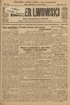 Kurjer Lwowski : organ demokratycznej inteligencji. 1926, nr169