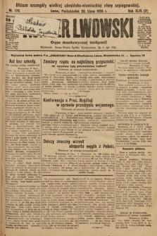 Kurjer Lwowski : organ demokratycznej inteligencji. 1926, nr170