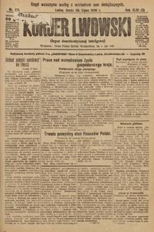 Kurjer Lwowski : organ demokratycznej inteligencji. 1926, nr171