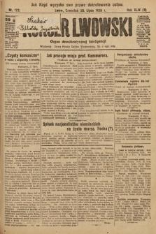 Kurjer Lwowski : organ demokratycznej inteligencji. 1926, nr172
