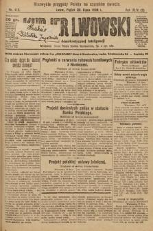 Kurjer Lwowski : organ demokratycznej inteligencji. 1926, nr173