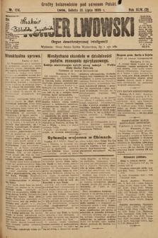 Kurjer Lwowski : organ demokratycznej inteligencji. 1926, nr174