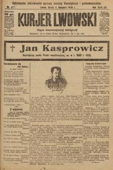 Kurjer Lwowski : organ demokratycznej inteligencji. 1926, nr177