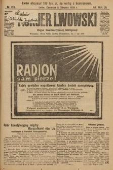 Kurjer Lwowski : organ demokratycznej inteligencji. 1926, nr178
