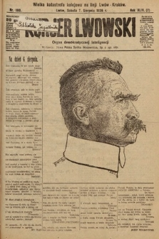 Kurjer Lwowski : organ demokratycznej inteligencji. 1926, nr180