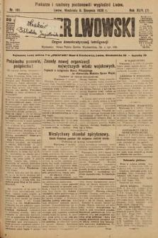 Kurjer Lwowski : organ demokratycznej inteligencji. 1926, nr181