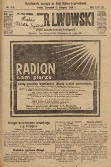 Kurjer Lwowski : organ demokratycznej inteligencji. 1926, nr184