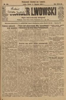 Kurjer Lwowski : organ demokratycznej inteligencji. 1926, nr185