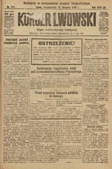 Kurjer Lwowski : organ demokratycznej inteligencji. 1926, nr194