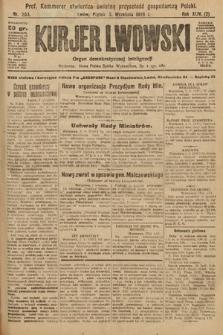 Kurjer Lwowski : organ demokratycznej inteligencji. 1926, nr203