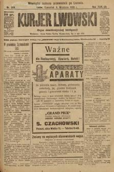 Kurjer Lwowski : organ demokratycznej inteligencji. 1926, nr208