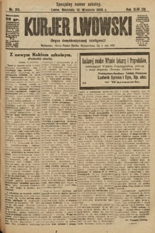 Kurjer Lwowski : organ demokratycznej inteligencji. 1926, nr211