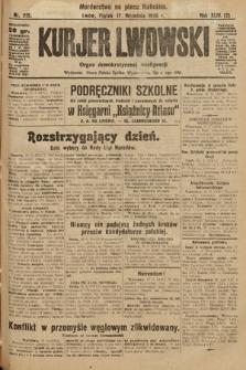 Kurjer Lwowski : organ demokratycznej inteligencji. 1926, nr215